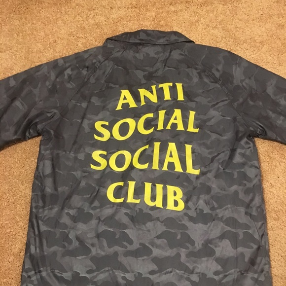 07819db0bd28 Anti Social Social Club Jackets   Coats